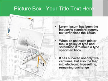 City Sketch PowerPoint Template - Slide 17