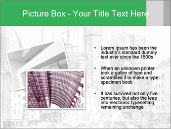 City Sketch PowerPoint Template - Slide 20
