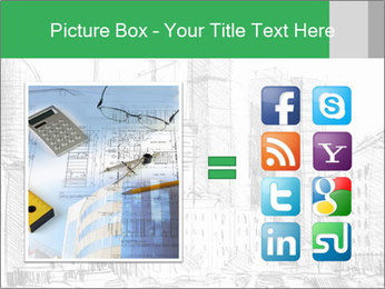 City Sketch PowerPoint Template - Slide 21
