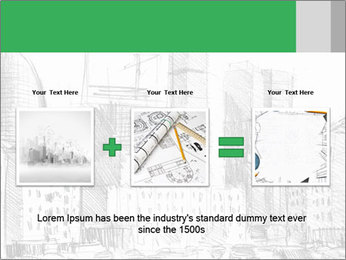 City Sketch PowerPoint Templates - Slide 22