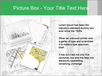 City Sketch PowerPoint Template - Slide 23