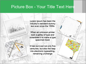City Sketch PowerPoint Template - Slide 24