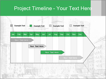 City Sketch PowerPoint Template - Slide 25