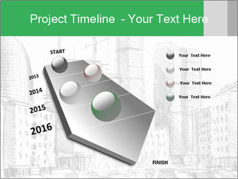 City Sketch PowerPoint Template - Slide 26