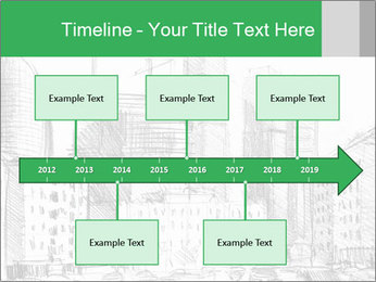 City Sketch PowerPoint Templates - Slide 28