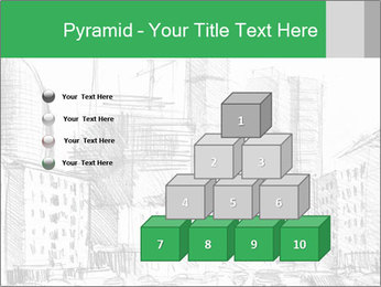 City Sketch PowerPoint Template - Slide 31
