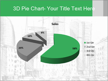City Sketch PowerPoint Template - Slide 35
