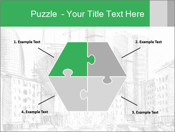 City Sketch PowerPoint Templates - Slide 40