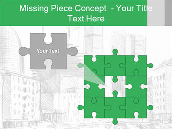 City Sketch PowerPoint Templates - Slide 45