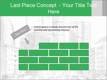 City Sketch PowerPoint Template - Slide 46