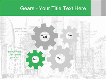 City Sketch PowerPoint Template - Slide 47