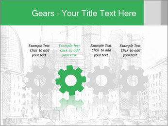 City Sketch PowerPoint Templates - Slide 48