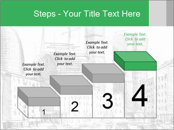 City Sketch PowerPoint Template - Slide 64
