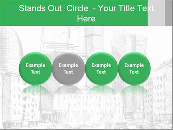 City Sketch PowerPoint Templates - Slide 76