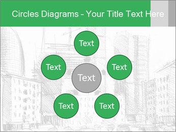 City Sketch PowerPoint Template - Slide 78