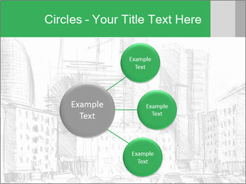 City Sketch PowerPoint Template - Slide 79