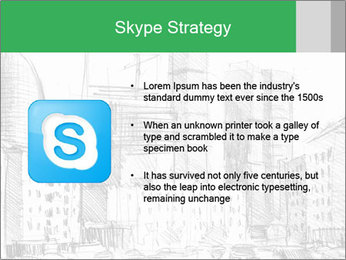 City Sketch PowerPoint Template - Slide 8