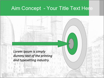 City Sketch PowerPoint Template - Slide 83