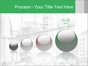 City Sketch PowerPoint Template - Slide 87