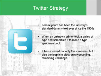 City Sketch PowerPoint Templates - Slide 9