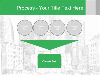 City Sketch PowerPoint Template - Slide 93