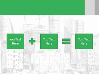 City Sketch PowerPoint Template - Slide 95