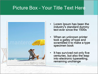 Beach And Honeymoon PowerPoint Template - Slide 13