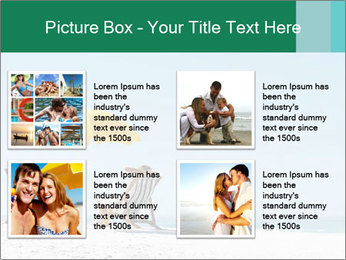 Beach And Honeymoon PowerPoint Template - Slide 14