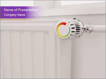 Central Heating PowerPoint Template - Slide 1