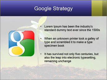 New Green Plant PowerPoint Template - Slide 10