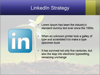 New Green Plant PowerPoint Template - Slide 12