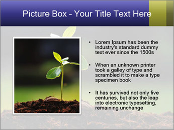 New Green Plant PowerPoint Template - Slide 13