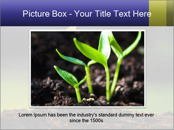 New Green Plant PowerPoint Template - Slide 15
