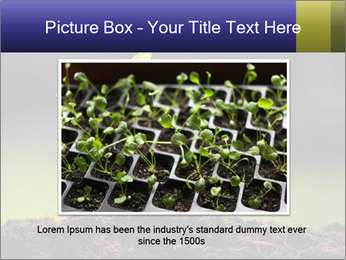 New Green Plant PowerPoint Template - Slide 16