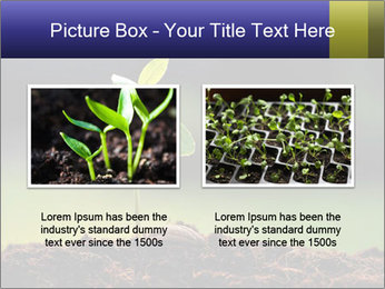 New Green Plant PowerPoint Template - Slide 18