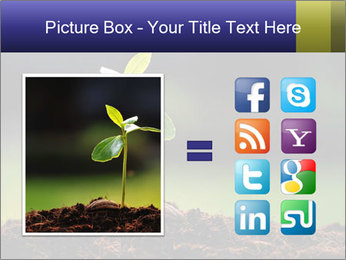 New Green Plant PowerPoint Template - Slide 21