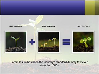 New Green Plant PowerPoint Template - Slide 22