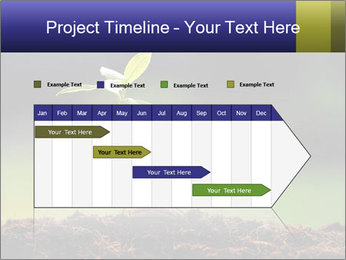 New Green Plant PowerPoint Template - Slide 25