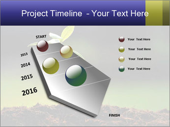 New Green Plant PowerPoint Template - Slide 26