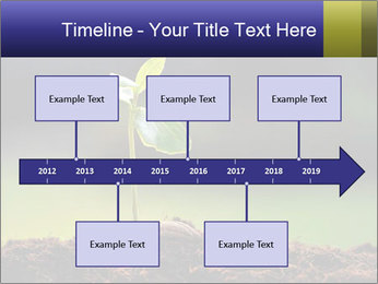 New Green Plant PowerPoint Template - Slide 28