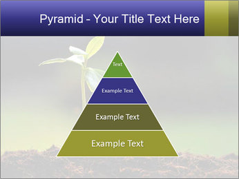 New Green Plant PowerPoint Template - Slide 30