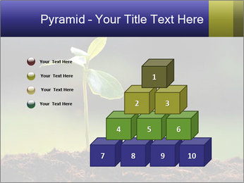 New Green Plant PowerPoint Template - Slide 31