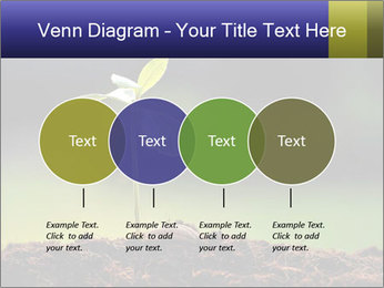 New Green Plant PowerPoint Template - Slide 32