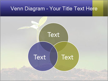 New Green Plant PowerPoint Template - Slide 33