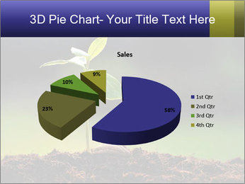 New Green Plant PowerPoint Template - Slide 35