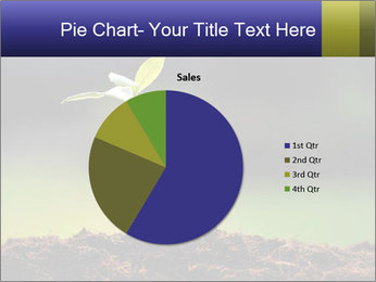New Green Plant PowerPoint Template - Slide 36