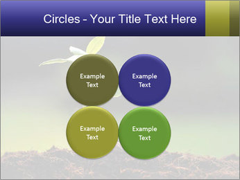 New Green Plant PowerPoint Template - Slide 38