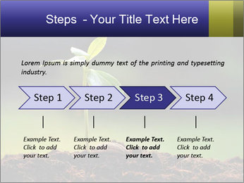 New Green Plant PowerPoint Template - Slide 4