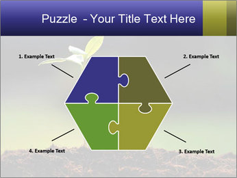 New Green Plant PowerPoint Template - Slide 40
