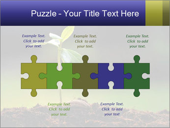 New Green Plant PowerPoint Template - Slide 41